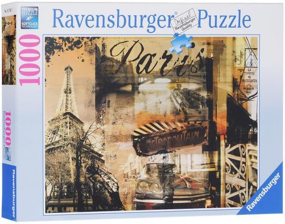 Пазл Ravensburger Воспоминание о Париже 1000 элементов пазл ravensburger озеро эйб 1000 элементов