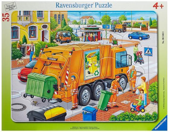 Пазл 35 элементов Ravensburger Вывоз мусора 06346