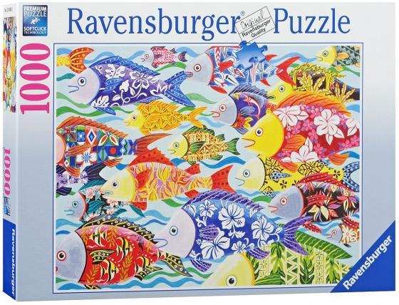 Пазл Ravensburger Гавайские рыбы 1000 элементов пазлы ravensburger паззл маяк на полуострове брус 1000 шт