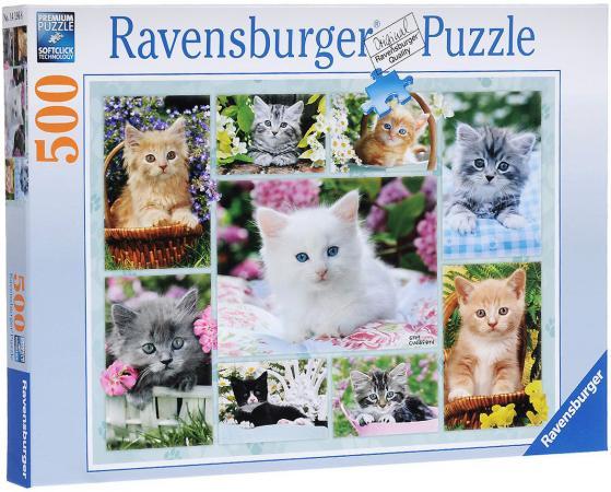 Пазл Ravensburger Галерея котят 500 элементов пазл ravensburger вечер в париже 500 элементов 14505