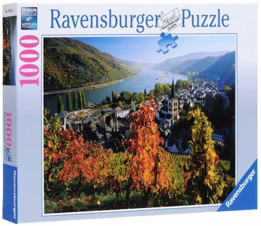 Пазл 1000 элементов Ravensburger Город на Рейне пазлы ravensburger пазл панорамный пляжные корзинки на зюлте 1000 элементов