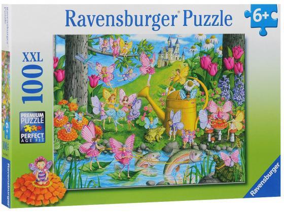 Пазл Ravensburger Город фей 100 элементов пазл ravensburger озеро эйб 1000 элементов