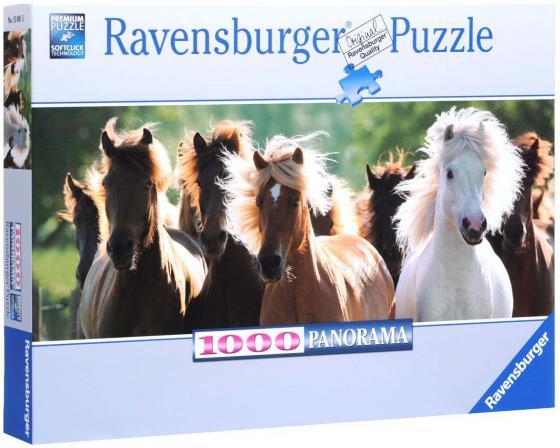 Пазл Ravensburger Дикие лошади 1000 элементов ravensburger ravensburger 1000