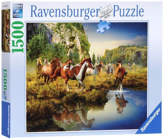 Пазл 1500 элементов Ravensburger Дикие лошади 16304 пазл ravensburger галерея сердец 1500 элементов
