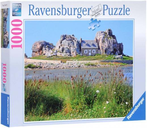 Пазл Ravensburger Дом в Британии  1000 элементов пазлы ravensburger пазл дом бальо в барселоне 1000 шт