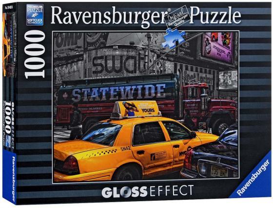 Пазл Ravensburger Желтое такси с глянцевым эффектом 1000 элементов