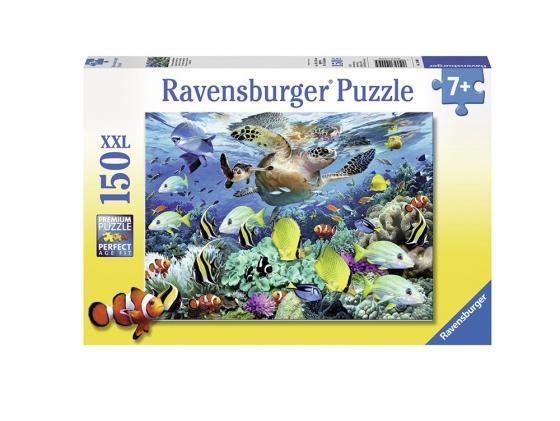 Пазл 150 элементов Ravensburger Пазл Ravensburger Коралловый риф 150 элементов 10009 белый медвежонок и котенок пазл 150 элементов