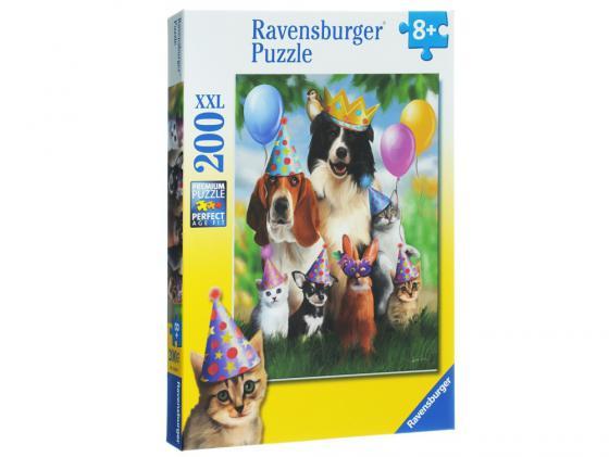 Пазл Ravensburger Король вечеринки 200 элементов пазл ravensburger озеро эйб 1000 элементов