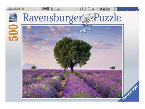 Пазл Ravensburger Пазл Ravensburger Лавандовое поле 500 элементов 500 элементов пазл 500 элементов ravensburger прима балерина 14647