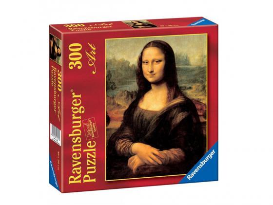Пазл Ravensburger Леонардо да Винчи Мона Лиза 300 элементов пазл ravensburger озеро эйб 1000 элементов