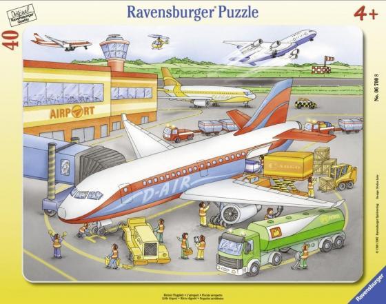 Пазл 40 элементов Ravensburger Маленький аэропорт 06700 цена 2017