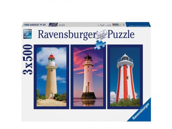 Пазл Ravensburger Пазл Ravensburger Маяк 3 х 500 элементов пазл ravensburger сейшелы 1500 элементов