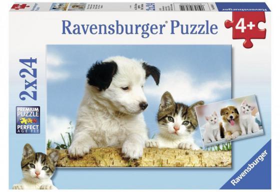 Пазл 48 элементов Ravensburger Настоящие друзья