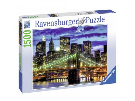Пазл Ravensburger Небоскребы Нью-Йорка 1500 элементов пазл ravensburger галерея сердец 1500 элементов