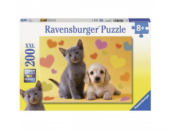 Пазл Ravensburger Пазл Ravensburger Неразлучные друзья 200 элементов 200 элементов пазл ravensburger милый щенок 100 элементов