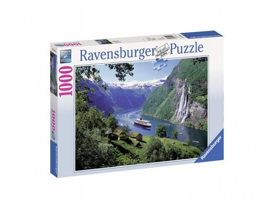 Пазл Ravensburger Норвежский фьорд 1000 элементов пазл ravensburger волшебный город 1000 элементов
