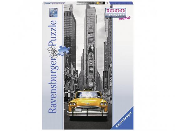 Пазл Ravensburger Пазл Нью-Йоркское такси 1000 элементов пазл ravensburger ravensburger пазл 1000 элементов лондон в картинках