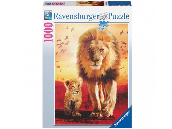 Пазл 1000 элементов Ravensburger Первые шаги 19051 пазл ravensburger сейшелы 1500 элементов