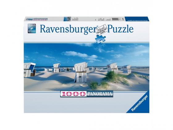Пазл Ravensburger Пляжные корзинки на Зюлте 1000 элементов