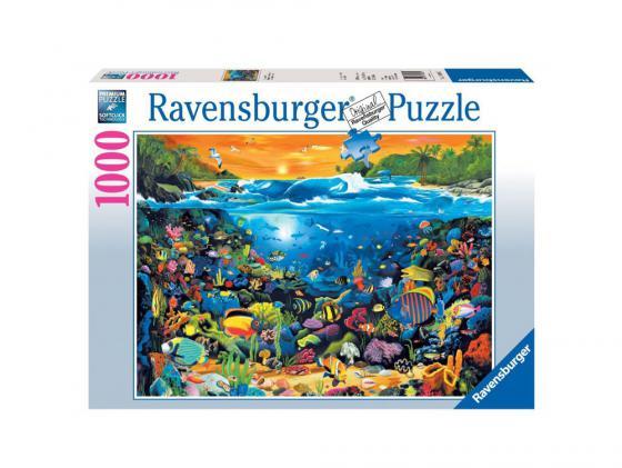 Пазл Ravensburger Пазл Ravensburger Подводный мир 1000 элементов ravensburger пазл коралловый залив ravensburger 1000 деталей