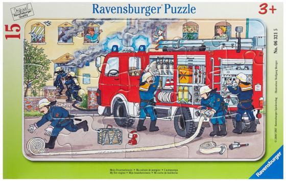 Пазл 15 элементов Ravensburger Пожарная машина