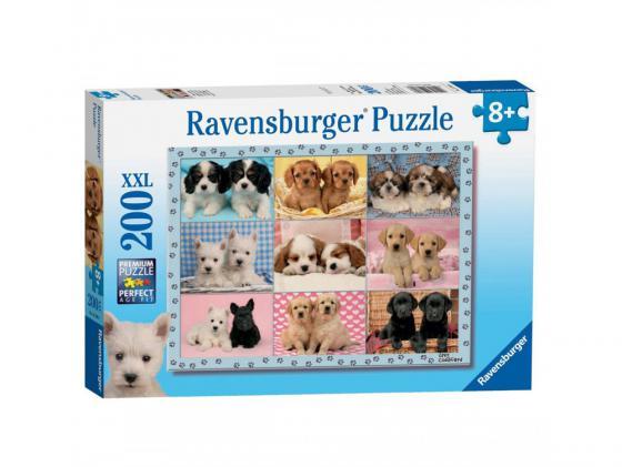 Пазл Ravensburger Пазл Ravensburger Прелестные щенки 200 элементов пазл ravensburger сейшелы 1500 элементов