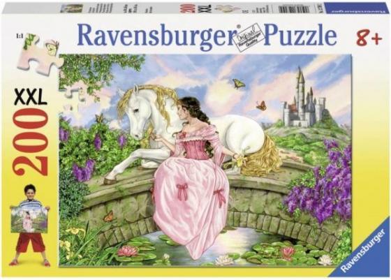 Пазл 200 элементов Ravensburger Принцесса на пруду 127092 пазл ravensburger сейшелы 1500 элементов