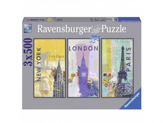 Пазл 1500 элементов Ravensburger Путешествие по миру 3 16329 пазл ravensburger галерея сердец 1500 элементов