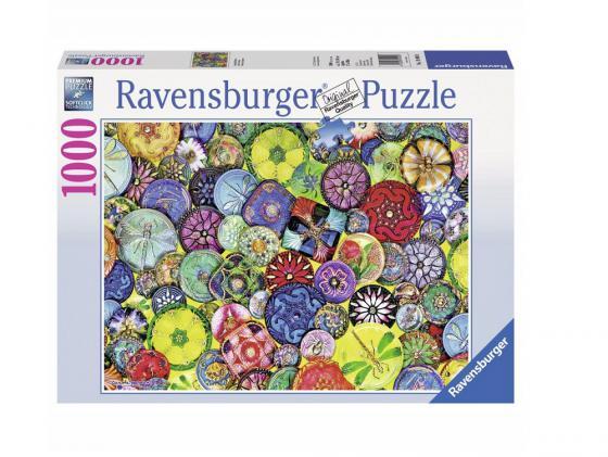 Пазл Ravensburger Пазл Ravensburger Разноцветные пуговицы 1000 элементов 1000 элементов ravensburger пазл коралловый залив ravensburger 1000 деталей