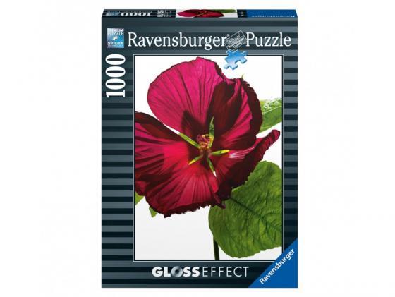 Пазл Ravensburger Пазл Ravensburger Цветок гибискуса 1000 элементов пазл ravensburger озеро эйб 1000 элементов