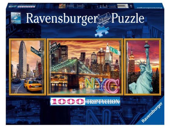 Пазл Ravensburger Ослепительный Нью-Йорк 1000 элементов