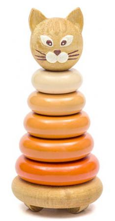 Пирамида Томик Котенок 15 см 7 элементов 501 мягкие игрушки plants vs zombies котенок 15 см