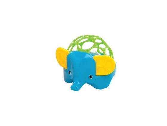 Погремушка Oball Зоопарк Слон унисекс погремушки oball погремушка зоопарк
