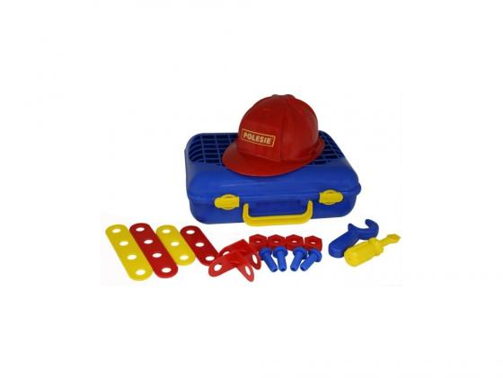 Игровой набор Полесье Механик в чемодане 43177 мастерская игрушечная полесье полесье набор инструментов механик