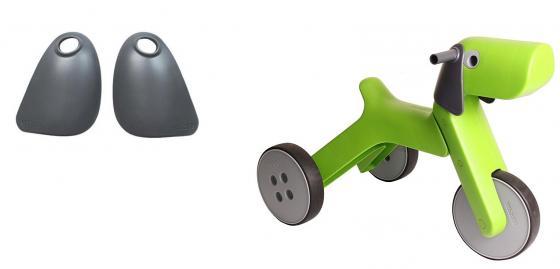 каталки игрушки Аксессуар для каталки Yetitoy Уши как у собаки пластик от 2 лет серый 73053