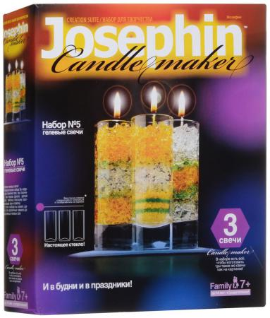 Набор для создания свечей Фантазер Гелевые свечи. Набор №5 от 7 лет 274005 набор для создания фрески фантазер superфреска джунгли