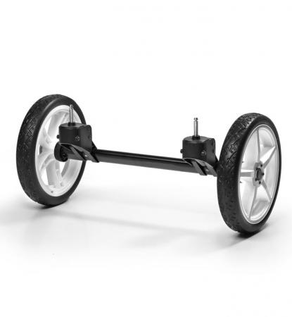 Система сменных колес Quad для коляски Hartan Topline S (белый) рама для крепления адаптеров hartan zx ii