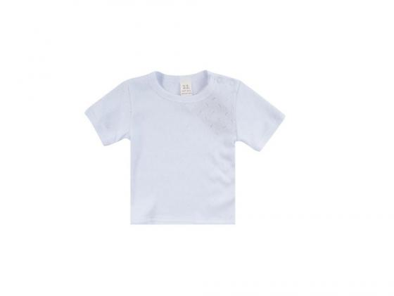 Фото - Футболка Lucky child Ажур Белая, разм. 22 (68-74 см.) 0-26 футболка lucky child ажур белая 74 80
