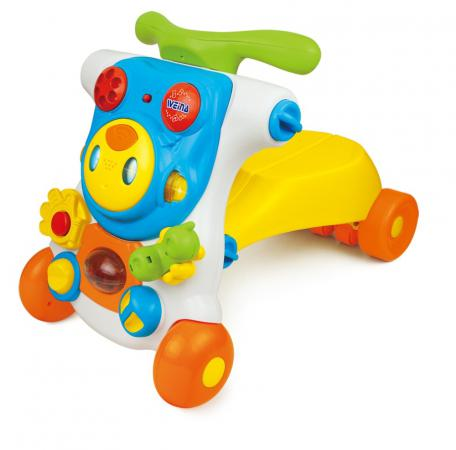 Ходунки-каталка 2-в-1 Weina Ride On Robot (2130) ходунки weina 3 в 1 музыкальный руль