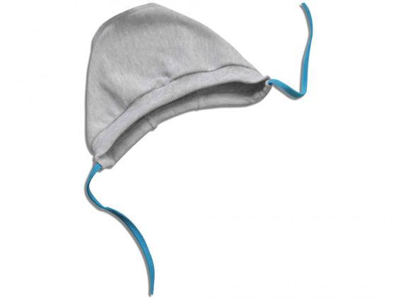 Чепчик интерлок мальчик (арт. 1-10М) (размер 42) серый