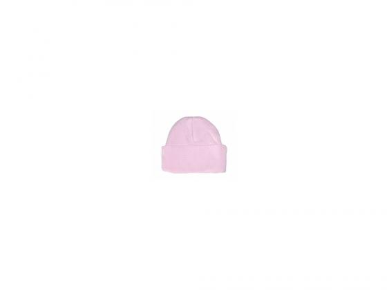 lucky child шапочка ангелочки белая на завязках Шапочка Lucky child Ажур Розовая (размер 42)