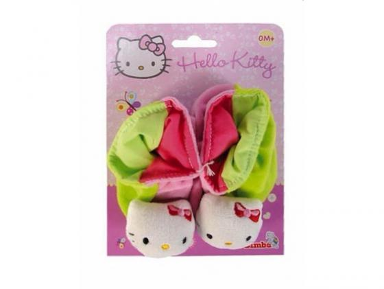 Тапочки-погремушки Simba Hello Kitty размер 13 см унисекс 4014804 в ассортименте simba simba hello kitty