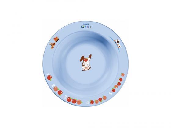 Тарелка Avent SCF706/01 1 шт от 6 месяцев голубой подогреватель avent scf356 00 1 1 шт от 3 месяцев scf356 00 1