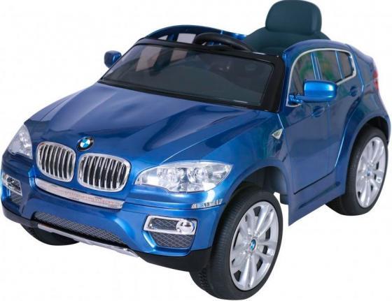 Электромобиль Kids Cars BMW X6 Синий (одноместный)