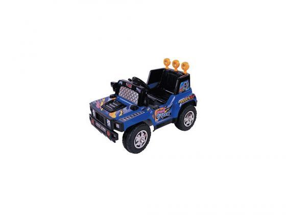 Электромобиль Kids Cars Джип (аккумуляторно-зарядный, с пультом управления, цвет синий) cars galore