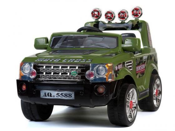 Электромобиль Kids Cars Джип Rover JJ012A (милитари) электромобиль мастер джип со склада