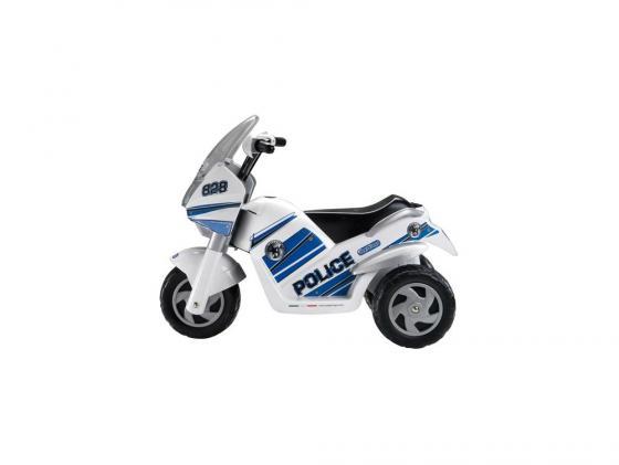 Трицикл Peg-Perego Raider Police с электрическим приводом квадрацикл peg perego с электрическим приводом polaris sportsman nero