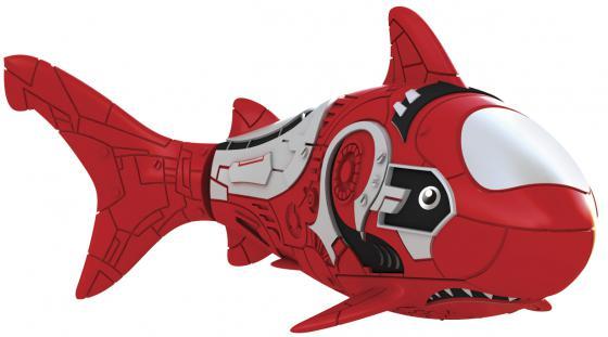 Интерактивная игрушка ZURU RoboFish акула плавает в воде от 3 лет красный 2501-8 игрушка zuru robofish клоун с аквариумом yellow 2502