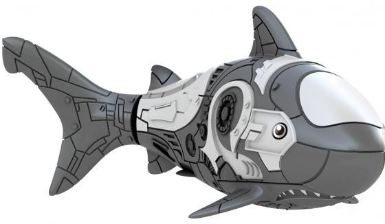 Интерактивная игрушка ZURU RoboFish акула плавает в воде от 3 лет серый 2501-5 zuru роборыбка немо в поисках дори zuru