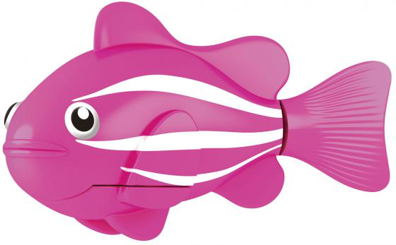 Интерактивная игрушка ZURU Robofish Клоун электронная рыба робот от 3 лет розовый 2501-2 zuru интерактивная игрушка zuru робо змея красная движение